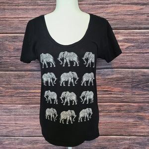 Riot Society Elephant T-Shirt